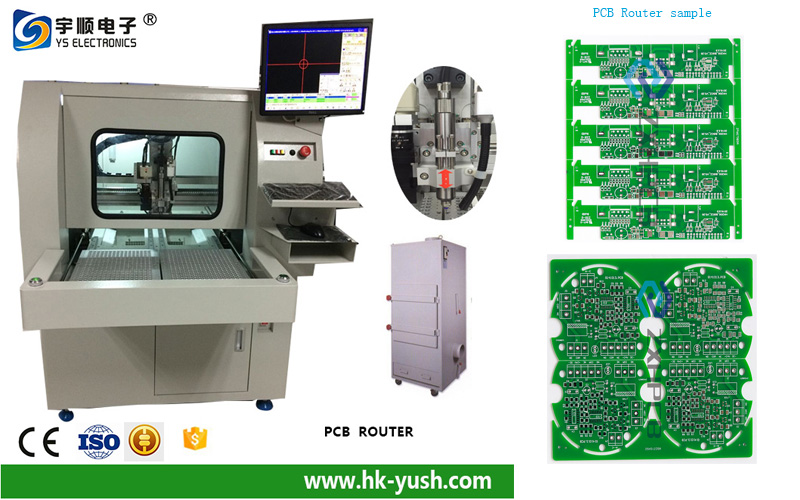 FR4 low cost PCB Router factory electric two sided board PCB Router