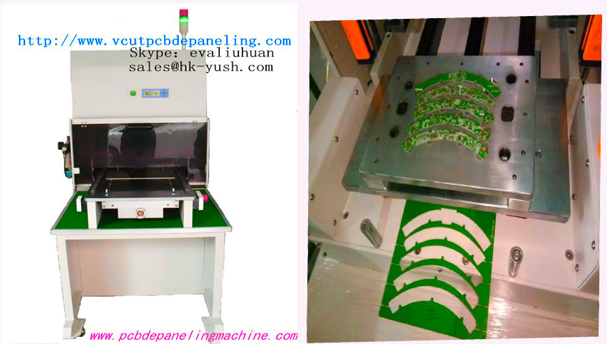 Pcb cutter|PCB Punching Machine For Mobile Electronics Industry With 460*320mm Working Area