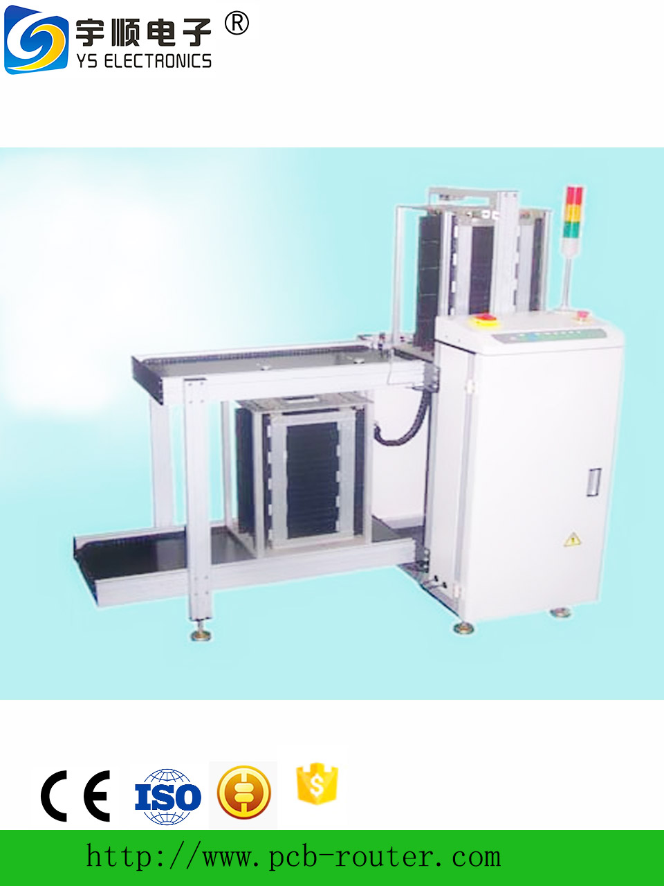 Hot selling automatic PCB loader machine/Factory price SMT automation PCB loader equipment