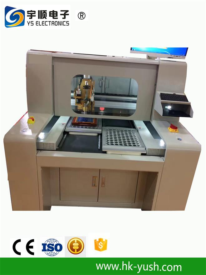 PCB Depaneler PCB Routing Machine with Windows 7 Operation System