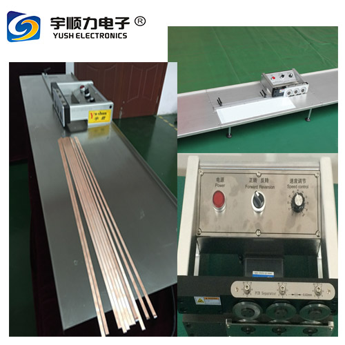 Round Blades PCB Separator For 330mm PCB And Aluminium Boards