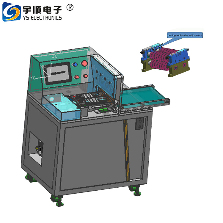 V-cut groove PCB separator machine