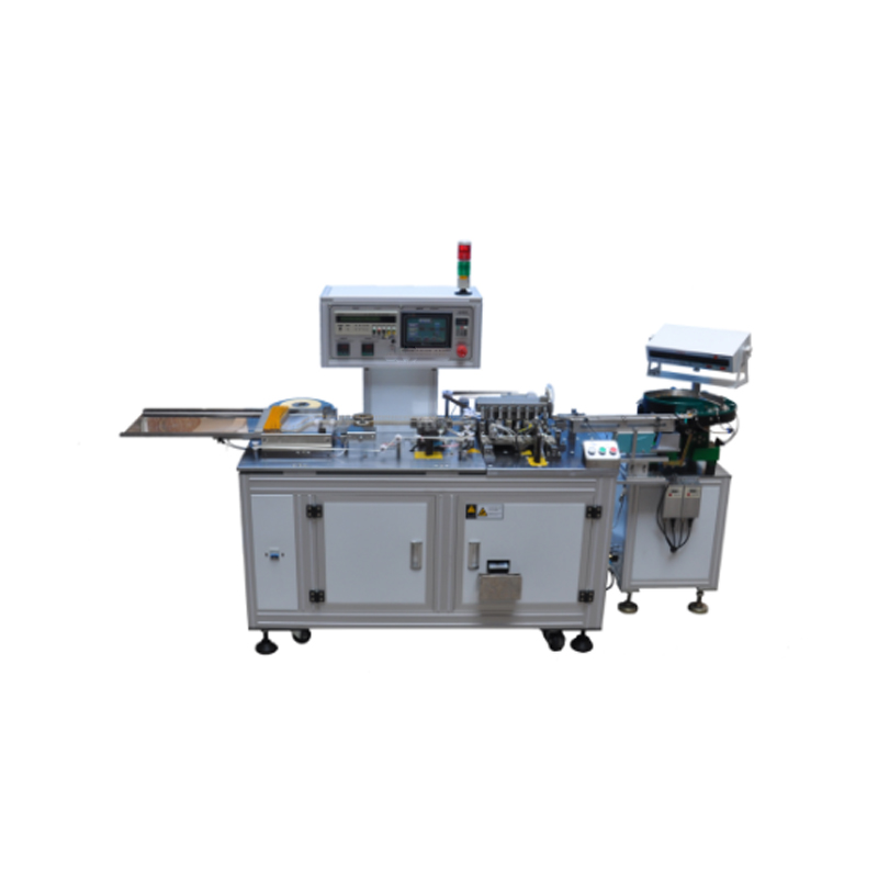 YS-320A film capacitor,led,resistor lead and leg cutting and bending tape packing machine