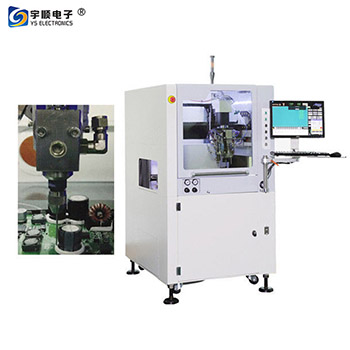Double Nozzle PCBA Conformal Coating Machine With 0.02mm Pre