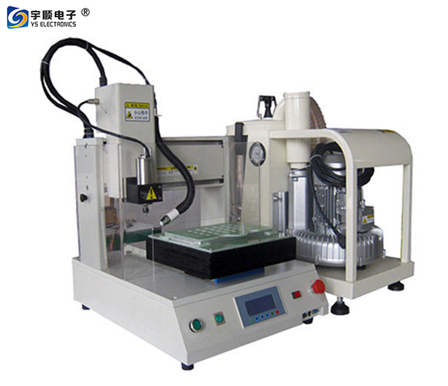 Auto Dust Cleaner Benchtop PCB Depanel PCB Routing Machine With Robust Frame