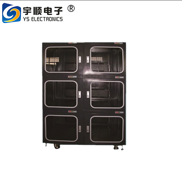 YUSHUNLI auto dry cabinet with 6 independent chambers