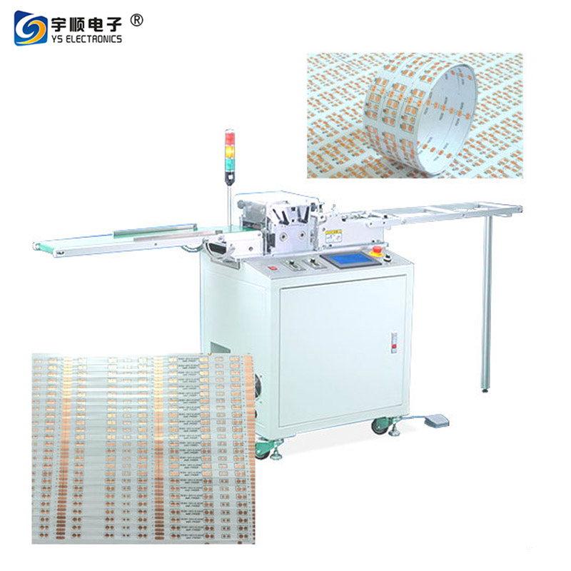PCB Cutting Machine For LED Electronics Industry|metal core depaneling device