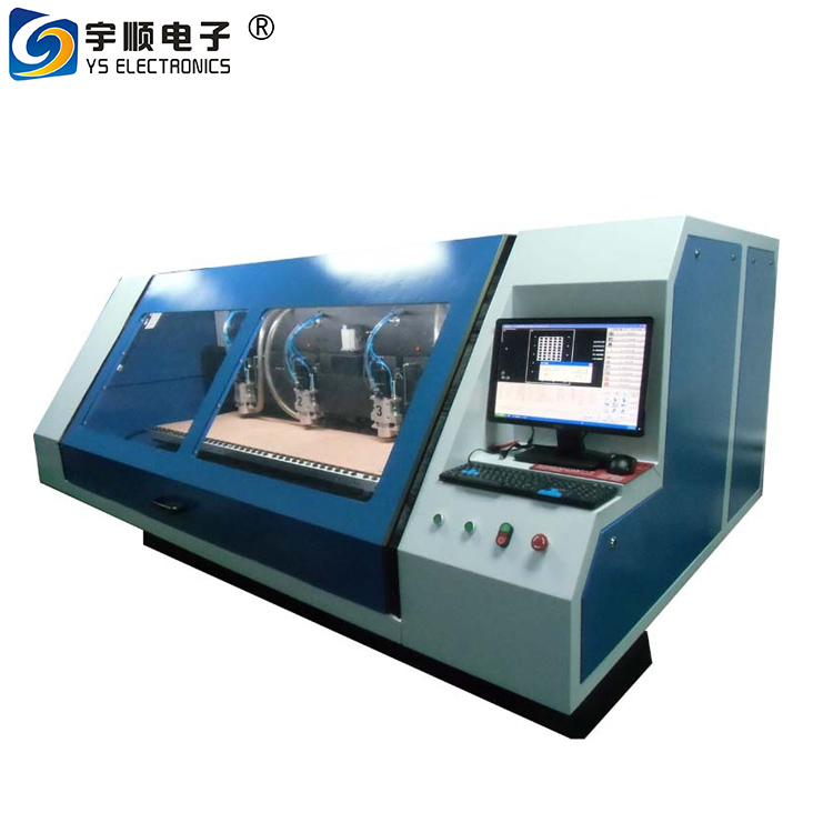 Auto Tool Change Spindle 1.2 KW Cheap PCB Milling Machine for Metal PCB, PCB Milling Machine Specification