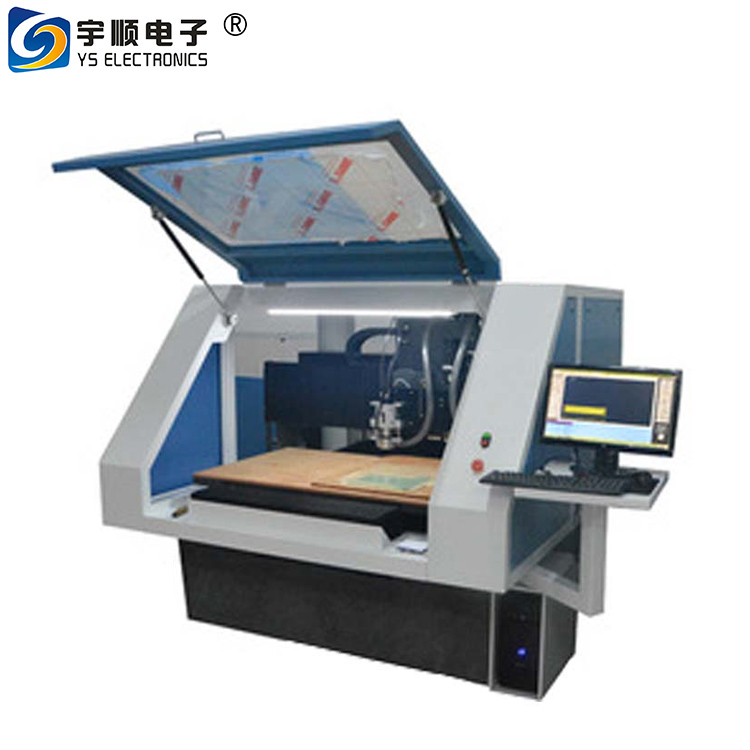 CNC PCB drilling and milling machine YS-03B for aluminum sheet manufacturing