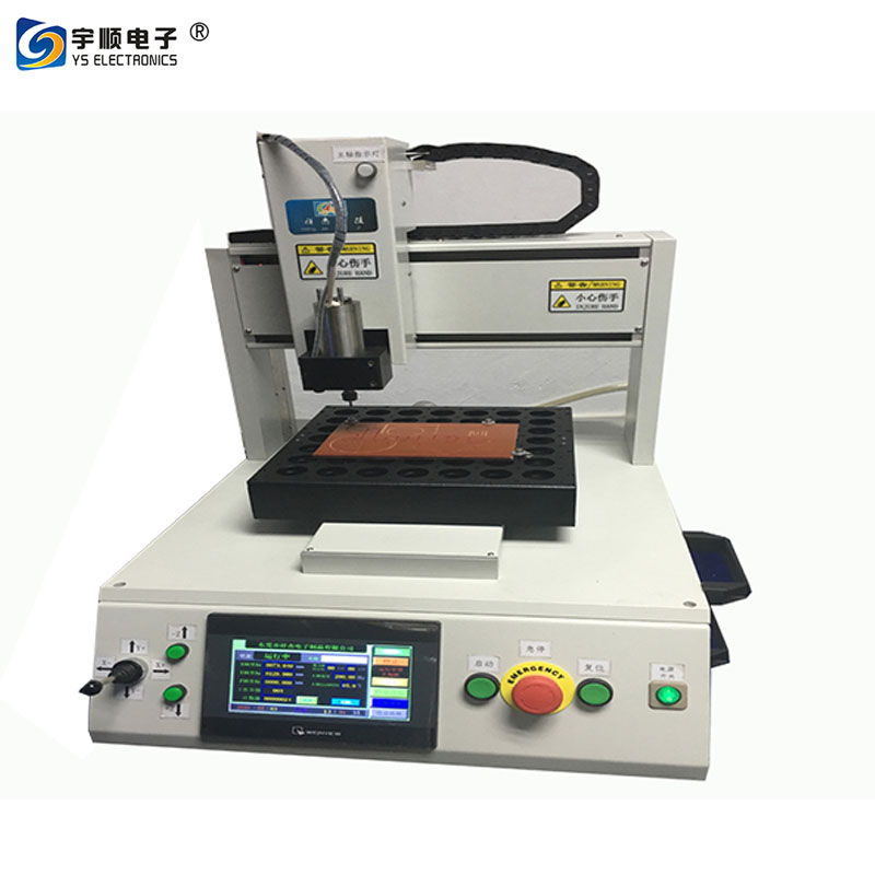 Double Nozzle PCBA Conformal Coating Machine With 0.02mm Precision