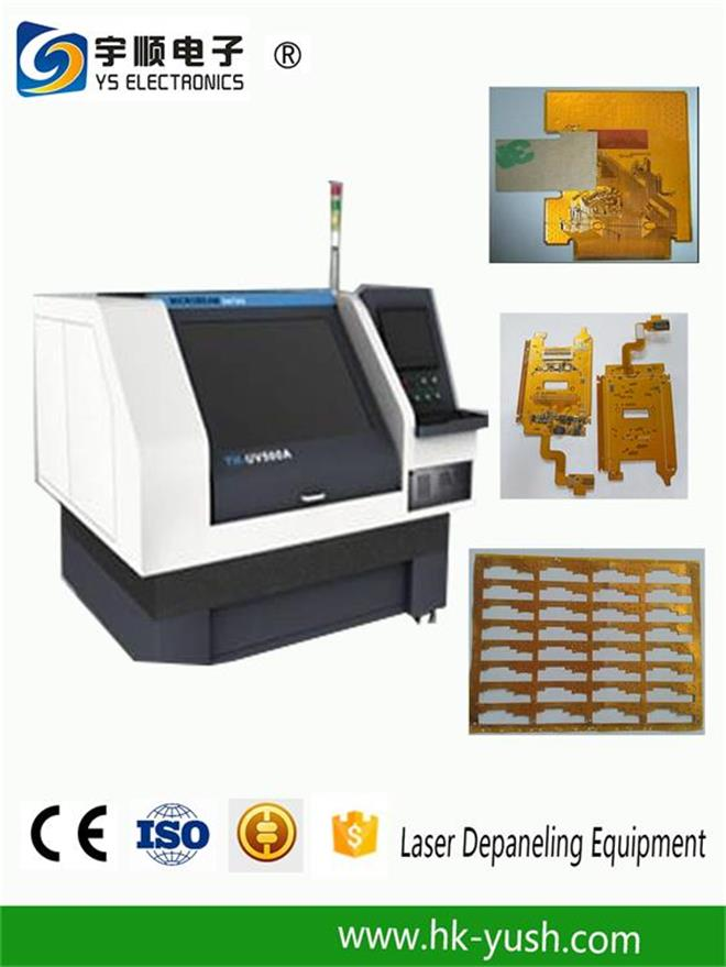 17W UV Optowave Laser Pcb Depaneling Machine without Cutting Stress